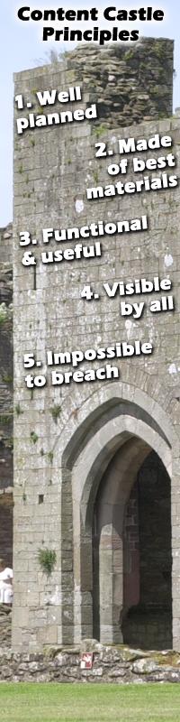 Content Castle Principles
