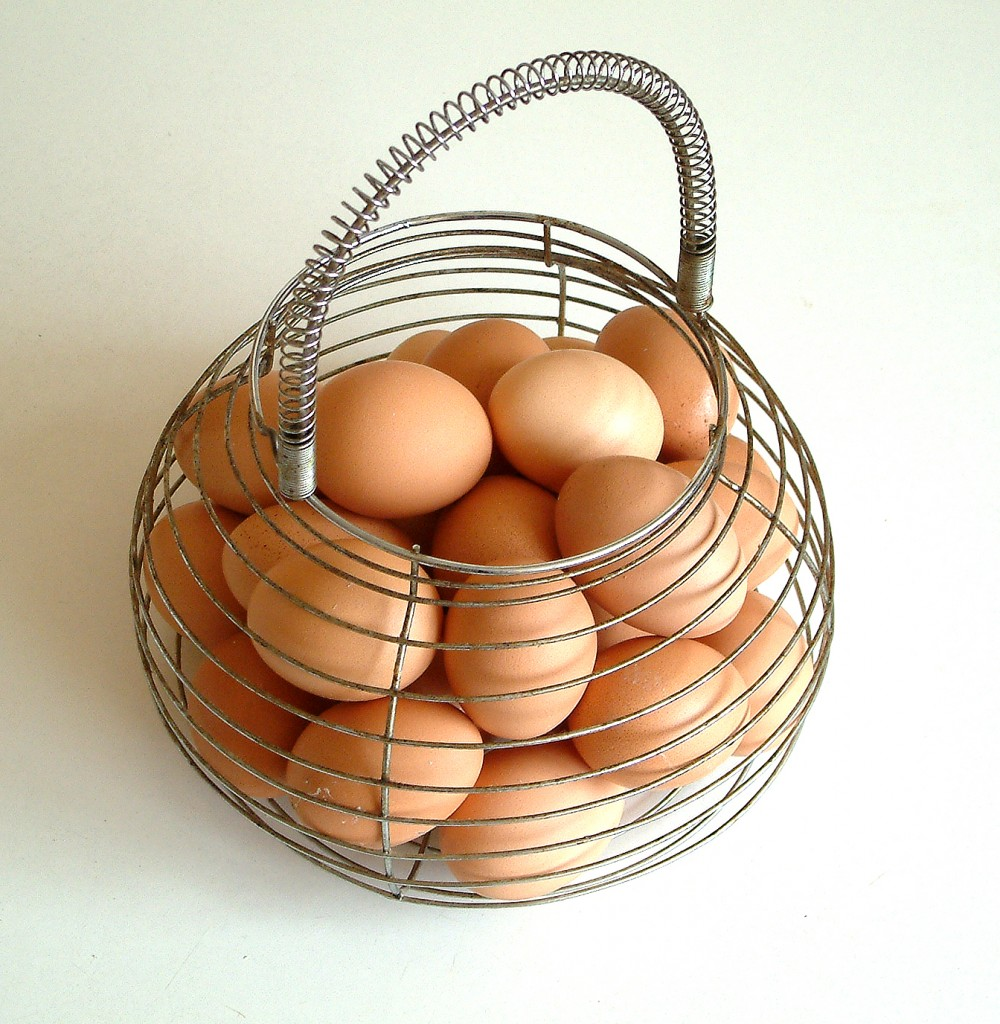 "Diversifying your lead sources prevents the ""putting all your eggs in one basket"" strategy."
