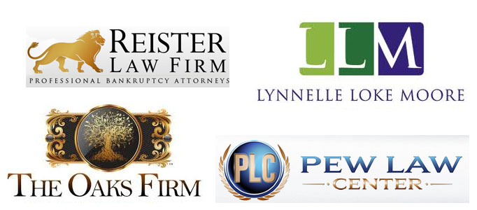 These logos establish a strong identity of their respective law firms