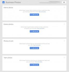 Google Image Categories